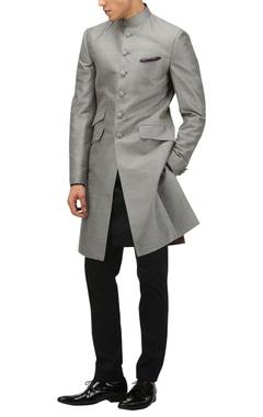 TARUN TAHILIANI - MEN Classic dupion silk sherwani