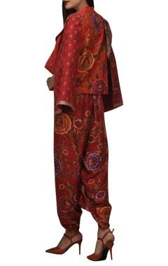 Khadi asymmetric cape
