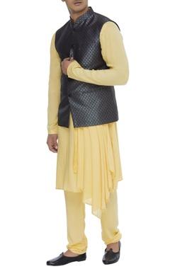 Chatenya Mittal Silk brocade nehru jacket