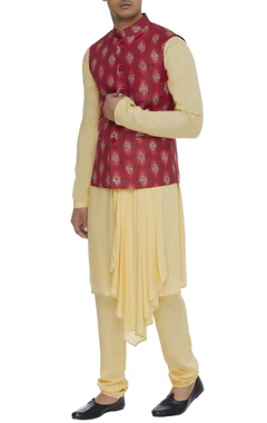 Chatenya Mittal Printed nehru jacket