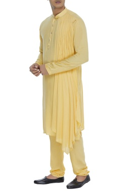 Chatenya Mittal Draped kurta with churidar