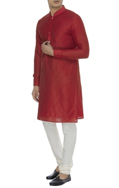 Chatenya Mittal Cotton silk kurta