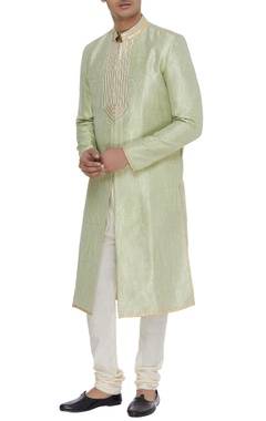 Embroidered brocade sherwani