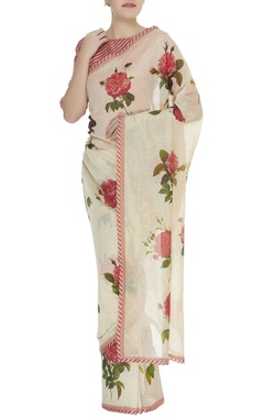 Payal Pratap Floral printed sari