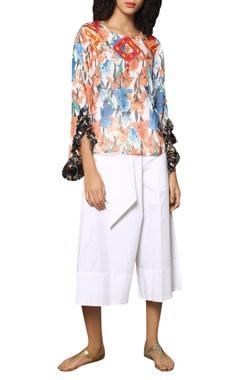 Reynu Taandon Floral printed blouse
