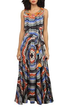 Reynu Taandon Printed maxi dress