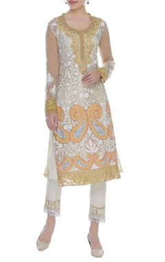 Manish Malhotra Kashmiri embroidered kurta with pants