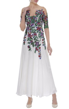 Manish Malhotra Resham embroidered anarkali kurta