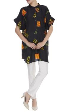 Kite print motif tunic