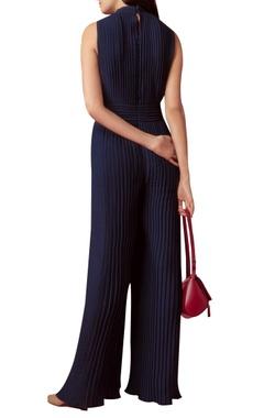 Embellished shoulder jumpsuit