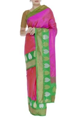 Pure banarasi woven sari