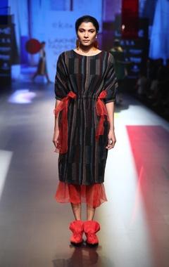 EKA Merino wool tunic with skirt