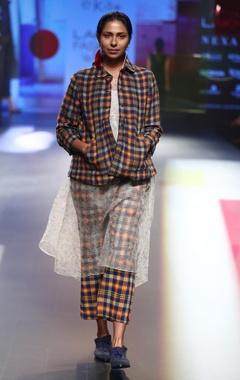 EKA Merino wool jacket with dress & pants