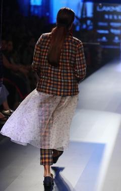 Merino wool jacket with dress & pants
