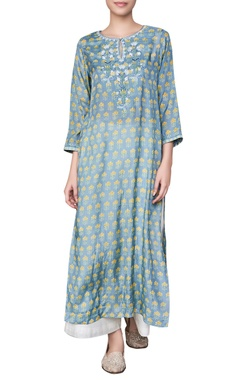 Anita Dongre Tree motif hand block printed jungle inspired tunic