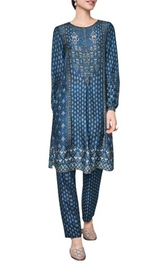 Anita Dongre Lush flora of ranthambore jungle inspired printed tunic