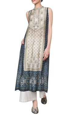 Anita Dongre Ranthambore jungle inspired printed sleeveless tunic