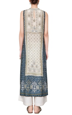 Ranthambore jungle inspired printed sleeveless tunic