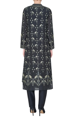 Printed ranthambore jungle inspired kurta set