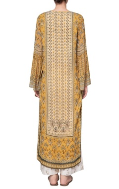 Georgette ranthambore jungle inspired printed tunic