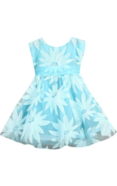 Sugar Candy Sequin embrodiered flared dress