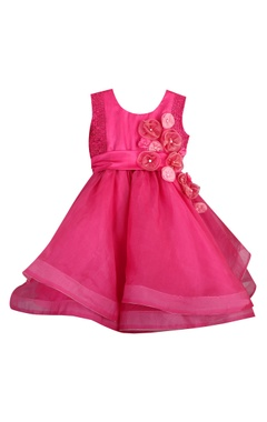 Sugar Candy Flower motif hand embrodiered dress