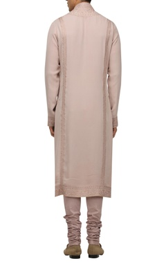 Chikankari full sleeves kurta with churidar