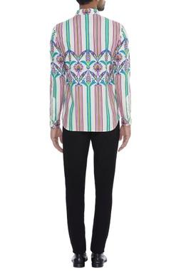 Stripe print Shirt