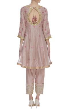 Sequin & mirror embroidered kurta set