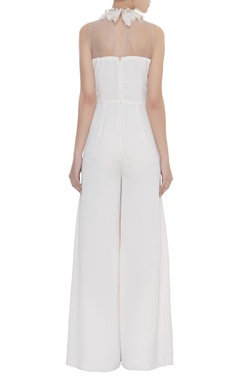 Crochet And Lace Embroidered Jumpsuit