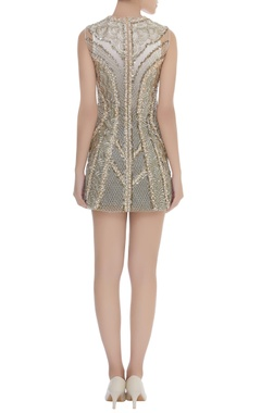 Bugle Beads & Pearl Embroidered Dress