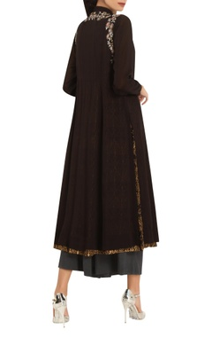 Embroidered long tunic