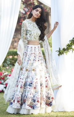 Varun Bahl Embroidered lehenga with blouse & dupatta