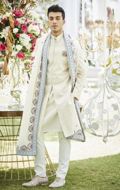 Varun Bahl Spun silkembroidered shawl
