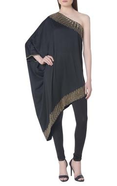 Namrata Joshipura Embroidered one shoulder tunic with pants