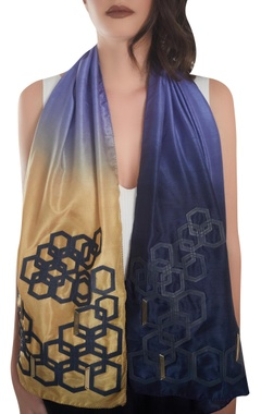 Leather work stole