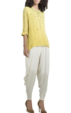 AM:PM Embroidered short shirt tunic