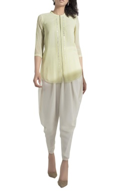 AM:PM Embroidered zippered top