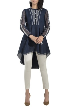 AM:PM Embroidered high-low tunic