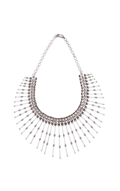 Motifs by Surabhi Didwania Pure silver necklace