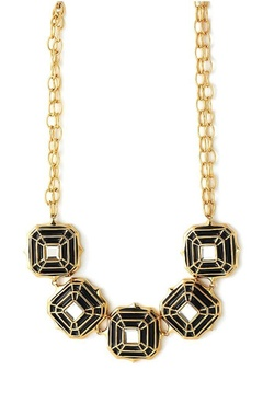 Black hampi necklace