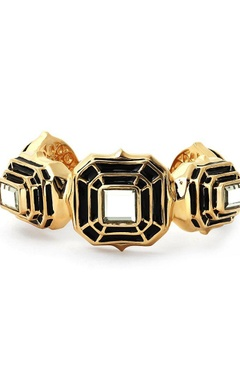black hampi statement cuff