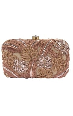 Coco embroidered clutch