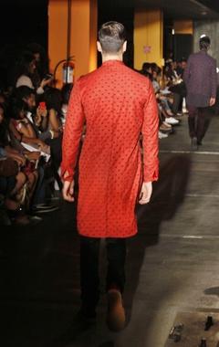 silk kurta shirt & trouser set