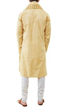 Textured cotton kurta set