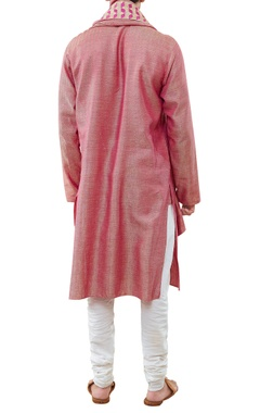 Kurta with malmal churidar & dupatta