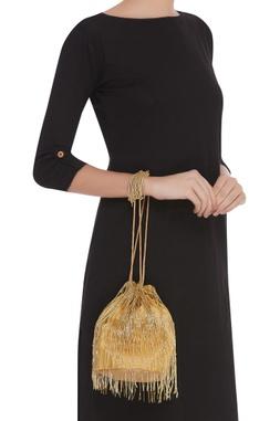 Fringed Potli Bag