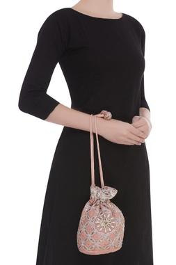 Resham Embroidered Potli Bag