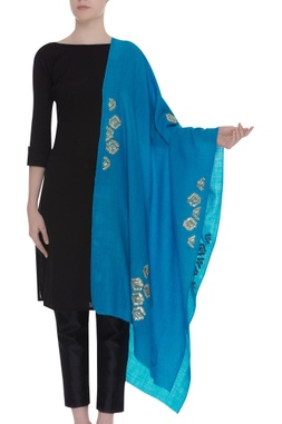 Gota patti embroidered shawl