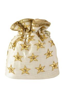 Gota Patti Embroidered Potli Bag